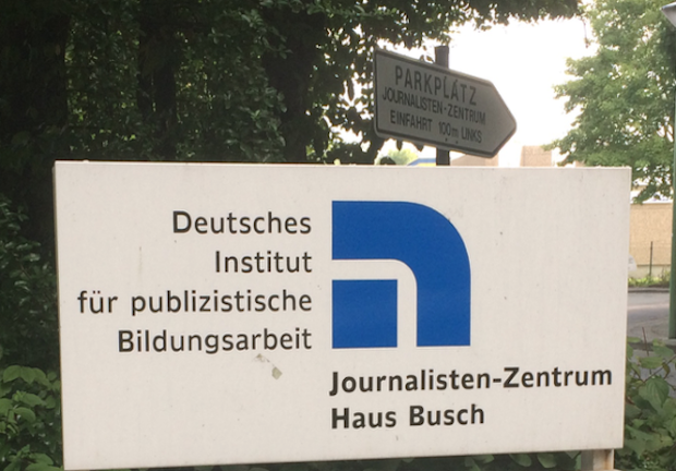 Photo of 3. Bloggertag im Journalisten-Zentrum in Hagen – ARKM auf dem Podium
