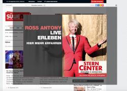 Ross Antony besucht am kommenden Wochenende das Sterncenter in Lüdenscheid.