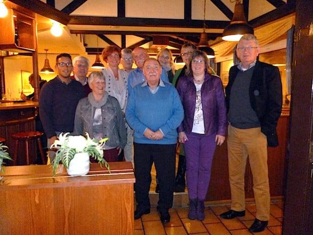 Das neue Almelo-Komitee mit seiner Vorsitzenden Marion Christophery (2.v.r.) traf sich mit Gästen aus Almelo und dem Team des Europabüros der Stadt Iserlohn und besprach die künftige Zusammenarbeit (Foto: Stadt Iserlohn).