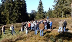 Über 50 Besucher bei Führung auf dem mittelalterlichen Altenberg