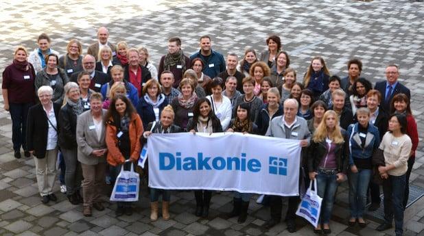 Die neuen Mitarbeiter der Diakonie Mark-Ruhr werden traditionell mit einem Begrüßungstag im Unternehmen willkommen geheißen - Foto: Diakonie Mark-Ruhr gemeinnützige GmbH.