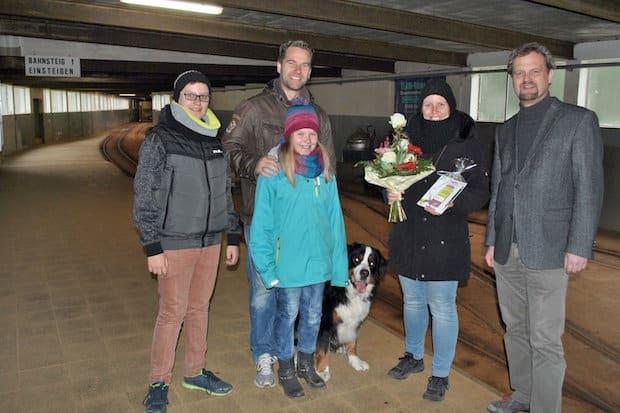 Photo of 3.333.333. Besucherin zu Gast im  Sauerländer Besucherbergwerk