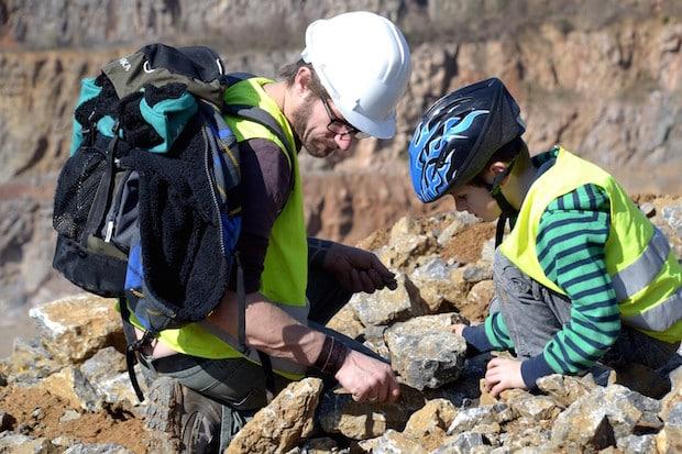 Photo of Fossilien- und Mineraliensuche für Kinder