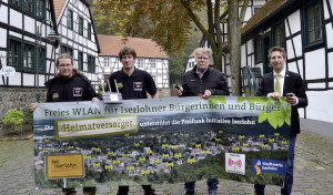 Freies WLAN jetzt auch in Barendorf