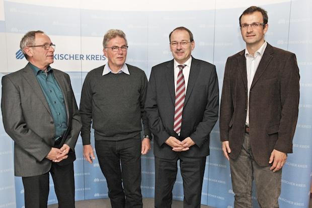 Photo of Kreissportbund zum Gespräch im Kreishaus