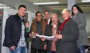 Bad Berleburg: Herzliches Willkommen mit buntem Malbogen