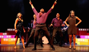 """Musicalshow """"MOTOWN"""" in der Stadthalle Olpe am 29. Oktober 2015"""