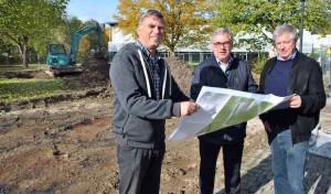 Ein Ort für alle Bürger: Arbeiten am Generationenpark haben begonnen