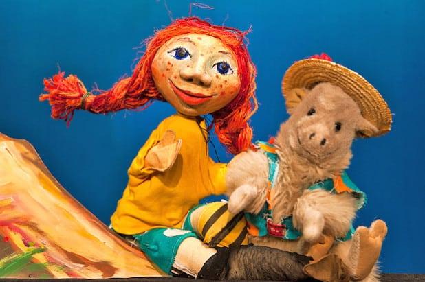 Die Geschichte von Pippi Langstrumpf wird bei den Puppentheater-Tagen auf Burg Altena erzählt (Foto: H. Krückemeier/Märkischer Kreis).