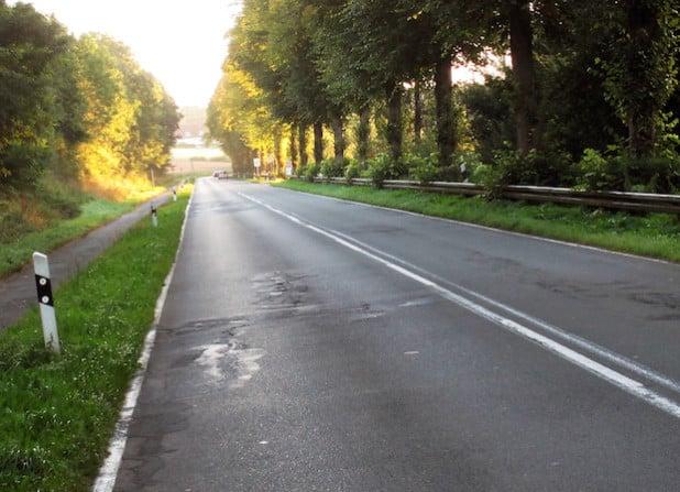 Wegen Bauarbeiten muss die K 8 zwischen Niederense und Günne vom 19. Oktober bis zum 7. November 2015 gesperrt werden und ist nur für Anlieger frei (Foto: Thomas Schäckel/Kreis Soest).