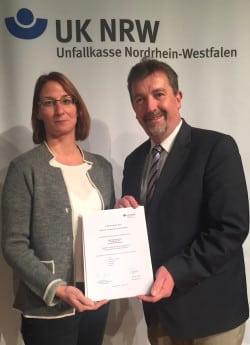 Vera Obermeier und Bernd Fuhrmann (Foto: Stadt Bad Berleburg)
