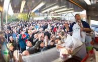 Allerheiligenkirmes in Soest: Auf dem Pferdemarkt geht's rund