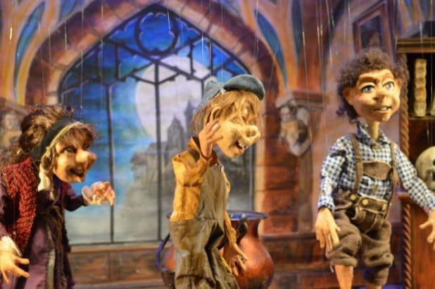 """""""Zauberlehrling Leopold"""" - Foto: Marionettenbühne Mummenschanz"""