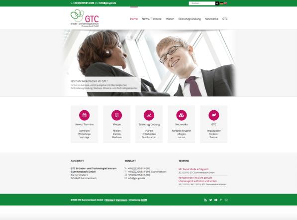 Photo of Neue Homepage für das GTC Gummersbach