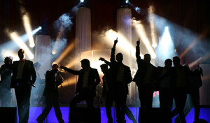 """The 12 Tenors"" in Olper Stadthalle"
