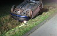 Bad Sassendorf: Im Straßengraben überschlagen