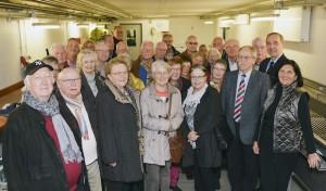 Hinter den Kulissen des Rettungszentrums: Mitglieder der Seniorenunion Bad Sassendorf zu Gast