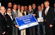 Klimaschutzminister Remmel vergibt European Energy Award an Gemeinde Wenden