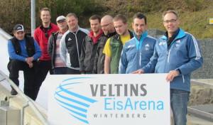 Rainer Nittel lobt Bahnarbeiter bei Antrittsbesuch