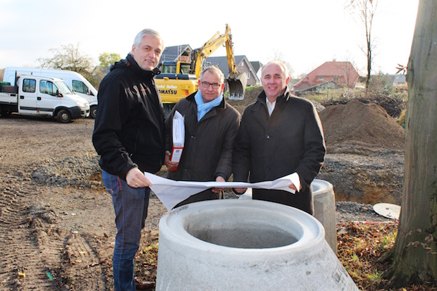 Photo of Erschließungsarbeiten in Geseke-Langeneicke