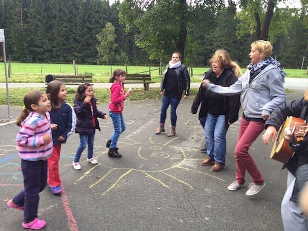 Photo of Das AWO Kids Club Mobil zu Gast in Netphen-Hainchen
