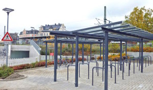 Neue Stellplätze für Radfahrer in Lippstadt