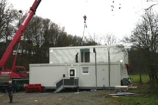 Aufstockung des Asylcontainers in Wenden um weitere 24 Plätze (Foto: Gemeinde Wenden)