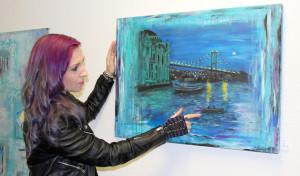 Christina Lambertz zeigt ihre Werke im Diakonie Klinikum Jung-Stilling
