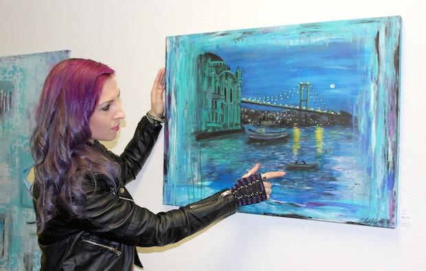 Photo of Christina Lambertz zeigt ihre Werke im Diakonie Klinikum Jung-Stilling