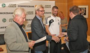 23 Junior-Coaches bekamen ihre Urkunden