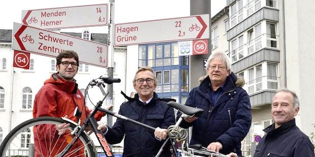 """Photo of Regionale-Projekt """"Radeln nach Zahlen"""""""
