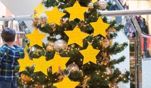 Ein Wunschbaum im Stern-Center Lüdenscheid
