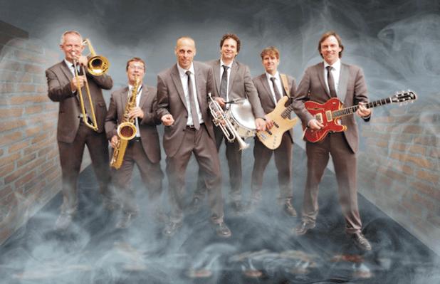 """Die """"Tom Browne Band"""" - Quelle: Kulturamt der Stadt Olpe"""