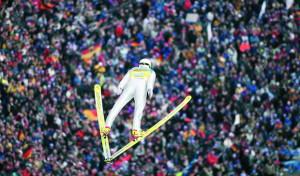 """Abfahren auf Eis und Schnee: Weltcup-""""Quartett"""" bringt die Fans zum Jubeln"""