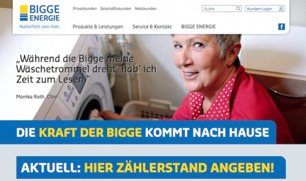 Mit dem persönlichen Kundenportal bleiben Daten und Informationen jederzeit im Blick (Foto: BIGGE ENERGIE GmbH & Co. KG).