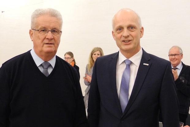 Photo of Burbach: Ortsvorsteher Waldemar Herr als Ratsmitglied verabschiedet