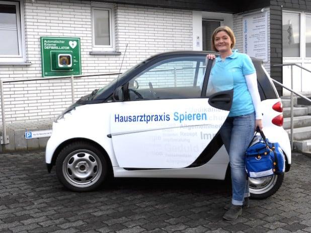 Sandra Kinkel - Foto: Hausarztpraxis Spieren