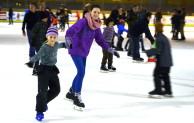 Eislaufen für Kinder zum Jahresende