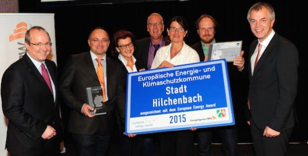 Verleihung des European Energy Awards im Krönungssaal des Aachener Rathauses (Foto: EnergieAgentur.NRW)
