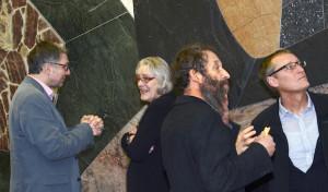 Gut besuchter Gedankenaustausch über Kükelhaus-Steinrelief und Troike-Fresko