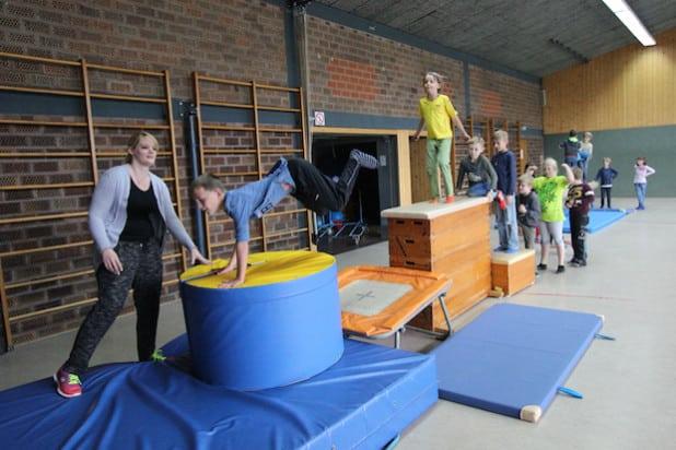 Viel Bewegung stand auf dem Programm der Wilnsdorfer Herbstferienbetreuung (Foto: Gemeinde Wilnsdorf).