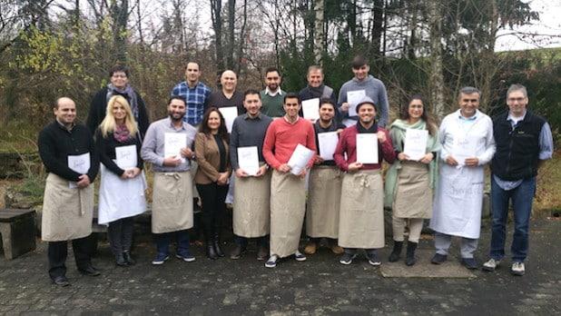 Teilnehmer und Leiter des Gruppenleiterkurses (Foto: Kreis Olpe).