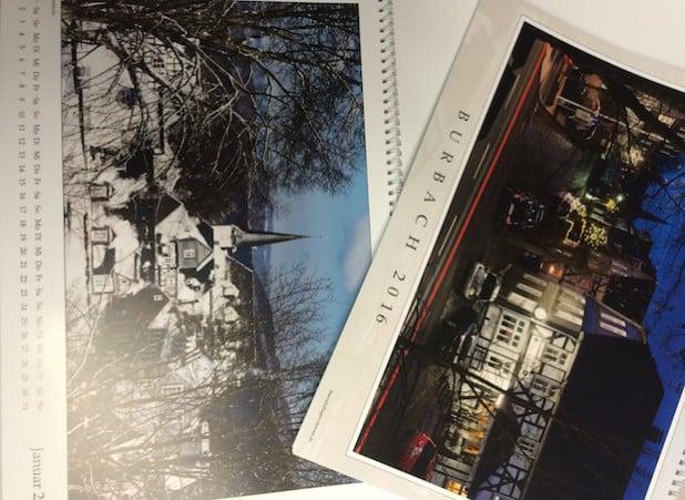 Geschenktipp zu Weihnachten: Der exklusive Burbachkalender (Foto: Gemeinde Burbach).
