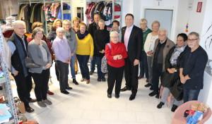 Kleiderkammer in der Ortsmitte von Neunkirchen eröffnet