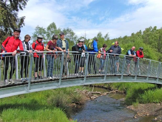 Die Bürger sind eingeladen, im Möhnetal auf Entdeckungsreise zu gehen, um sich selbst ein Bild zu machen. Hier eine Radexkursion im Mai 2015 (Foto: Christoph Hester).