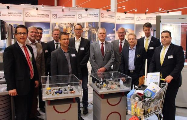 Die Aussteller, die am Gemeinschaftsstand 2014 in Siegen vertreten waren, ziehen eine positive Bilanz (Foto: wfg Kreis Soest).