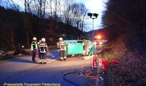 Verkehrsunfall in der Oestertalstraße – Mutter und Kind schwer verletzt