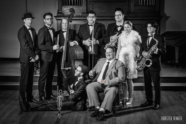 """Photo of """"Gentlemen Jazz Orchestra"""" ehrt Frank Sinatra"""