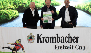 Siegen: 27. Auflage des Krombacher Freizeit Cups steht an