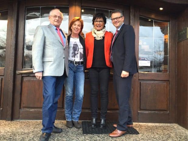 Vertreter der Hotels Berghotel Astenkrone, Altstadthotel Winterberg und Hotel Engemann Kurve (Foto: Winterberg Touristik und Wirtschaft GmbH)